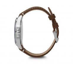 Victorinox - Fieldforce - Brown Leather Strap Side Profile