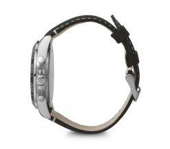 Victorinox - Fieldforce Chrono - Black Leather Strap Side Profile
