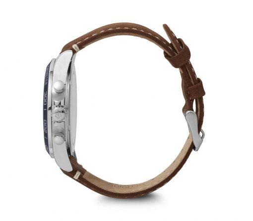 Victorinox - Fieldforce Chrono - Brown Leather Strap Side Profile