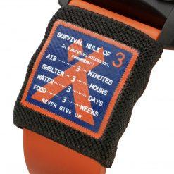 Luminox Bear Grylls Survival SEA Rule of 3 Limited Edition Black/Orange Rule of Three Close Up