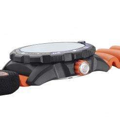 Luminox Bear Grylls Survival SEA Rule of 3 Limited Edition Black/Orange Open Side Profile