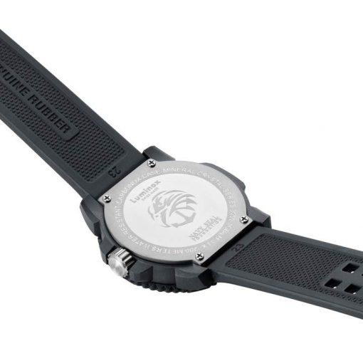 Luminox Original Navy SEAL Colormark 3051.GO.NSF Black/Black Back Side Open