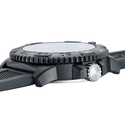 Luminox Original Navy SEAL Colormark 3051.GO.NSF Black/Black Open Side Profile