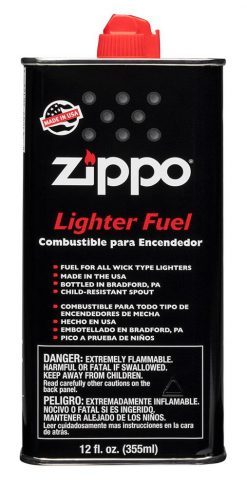 Zippo - 12 oz. Lighter Fuel Front Side