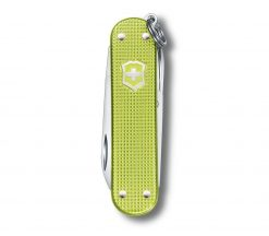 Victorinox Classic SD Alox - Lime Twist Front Side Closed