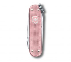 Victorinox Classic SD Alox - Cotton Candy Front Side Closed