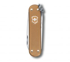 Victorinox Classic SD Alox - Wet Sand Front Side Closed