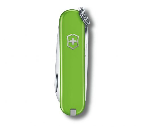 Victorinox Classic SD - Smashed Avocado Front Side Closed