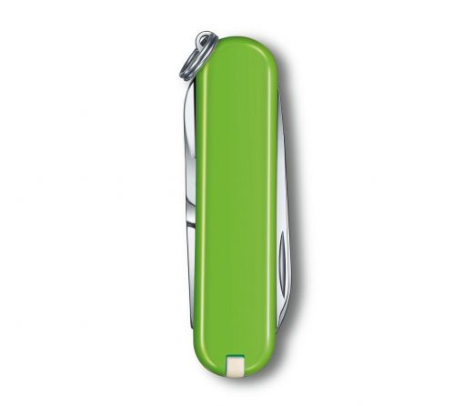 Victorinox Classic SD - Smashed Avocado Back Side Closed
